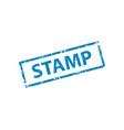 template stamp texture vector image vector image