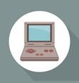 videogame portable technology vector image vector image