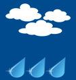 weatherset3 vector image vector image