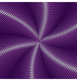 Abstract dotted violet background vector image