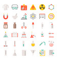 laboratory equipment icon vector image