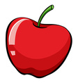 An apple vector image vector image