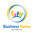 business house icon design vector image vector image