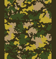 camouflage patternseamless army wallpaperdigital vector image vector image