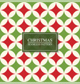 christmas seamless colorful mosaic pattern bright vector image vector image
