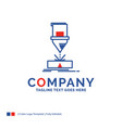 company name logo design for cutting engineering vector image vector image
