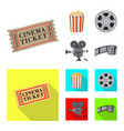 design of television and filming icon vector image