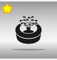 fountain black icon button logo symbol vector image vector image