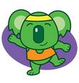 Gymnastic Koala vector image