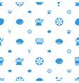 lemon icons pattern seamless white background vector image vector image