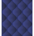 quilted blue fabric vector image vector image