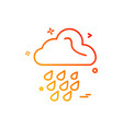 rain icon design vector image