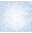 christmas gentle silvery vector image vector image