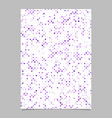 geometric dot pattern brochure background template vector image vector image