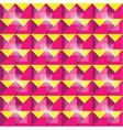Retro seamless yellow and purple pattern vector image
