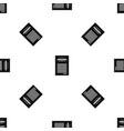 sales printed receipt pattern seamless black vector image vector image