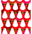 Santa Claus seamless pattern Christmas background vector image