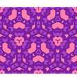 violet purple pink color abstract geometric vector image vector image