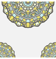 circular decorative ornament arabic pattern vector image