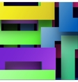 Abstract colorfull line background vector image