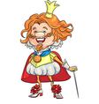 fairytale king Smile vector image vector image