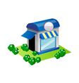 icon shop vector image vector image