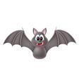 Cute cartoon bat vector image