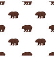 canadian brown bear canada single icon in cartoon vector image vector image