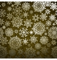 christmas pattern snowflake vector image vector image