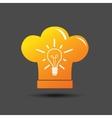 Cooking ideas symbol vector image vector image