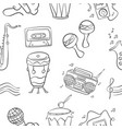 Music doodle style hand draw art