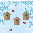 nesting boxes vector image