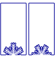 simple winter banners vector image vector image