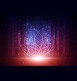 abstract futuristic technology background concept vector image