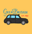 british symbols badges or stamps emblems car vector image vector image