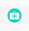 first aid kit icon sign symbol vector image vector image