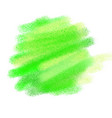 green watercolour texture vector image vector image