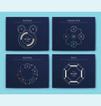 infographic brochure elements for business vector image vector image