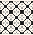 ornamental seamless pattern with circles squares vector image vector image