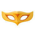 palm mask icon flat style vector image vector image