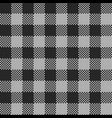 rectangle seamless knitted pattern in gray color vector image vector image