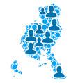 veraguas province map population people vector image vector image