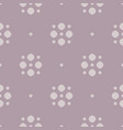 simple polka dot seamless pattern in pastel color vector image