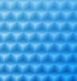 Abstract shape blue background made with isometric vector image