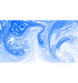 blue marble marble texture fluid colorful shapes vector image