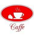 Caffee design vector image