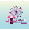 circus and fair vector image