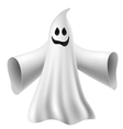Cute ghost vector image