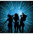 Disco females vector | Price: 1 Credit (USD $1)