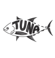 Drawing tuna fish